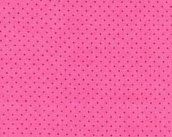 Cotton and Steel Lip Gloss Pink Add it Up Basics Fabric by the Half Yard