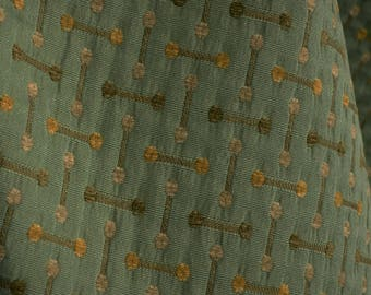 Blue Green Contemporary Upholstery Fabric