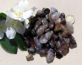 10 Fire Agate Crystal Tumblestones, Crystal Collection, Agate Crystals, Meditation Stone, Brown Crystals, Chakra Crystals, Gemini Crystals