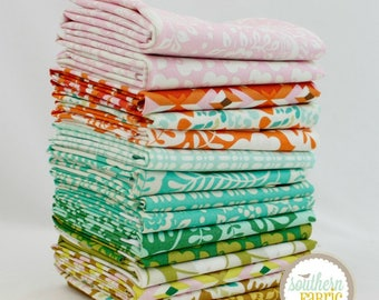 "Clementine - Fat Quarter Bundle - 15 - 18""x21"" Cuts - Heather Bailey - Free Spirit Quilt Fabric"