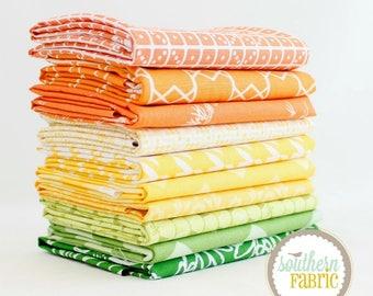 Citrus -  Scrap Bag Scraps-- Scrap Bag Quilt Fabric