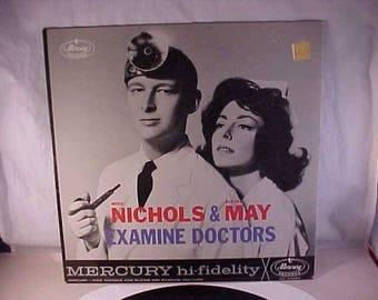 Mike Nichols & Elaine May  - 33 LP - Examine Doctors
