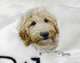 NEW  Goldendoodle Dog Blanket