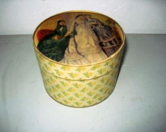 Vintage Bouton Bath Dusing Talc jasmine