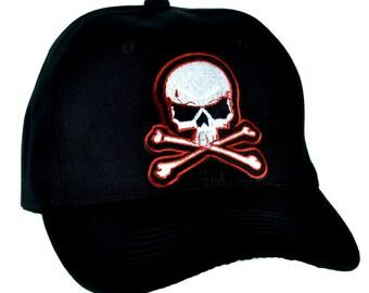 Skull & Cross Bones Skater Hat Baseball Cap Thrasher Clothing Dgk - PA-31-CAP