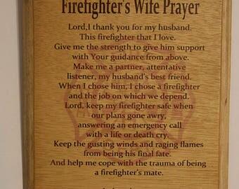 Firefighter Wife's Prayer