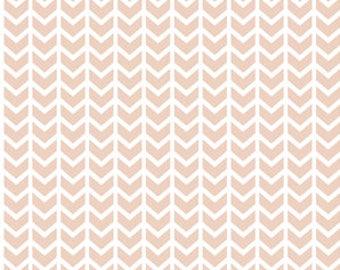 Baby Girl Sheet - BLUSH Crib Sheet / Mini Crib Sheets / Changing Pad Cover / Pink Crib Sheet / Fitted Baby Sheets Pink Stripe Crib Bedding