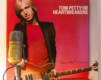 """ON SALE Tom Petty and the Heartbreakers Vinyl Record Album LP Vintage 1970s Classic Rock and Roll """"Damn the Torpedoes"""" (1979 Backstreet w/""""R"""