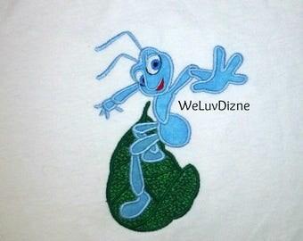 Flik  Bugs Life appliqued shirt
