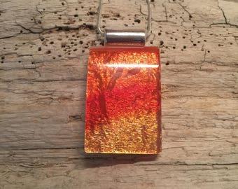 Jewelry, handmade, Dichroic glass pendant, dichroic glass, fused glass, dichroic glass, dichroic glass jewerly, glass, glass jewelry