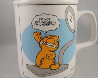 Garfield I'm Not Overweight, I'm Undertall Ceramic Mug