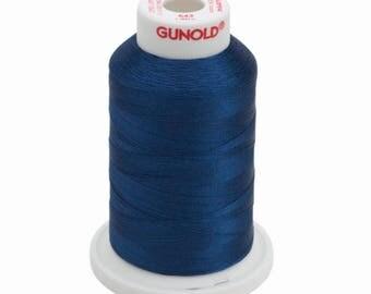 Machine Embroidery Thread Sulky Rayon   643 Arctic Sky   Navy Blue