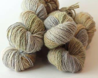 "Hand dyed yarn Cashmere Mink Emma ""Hayloft"""