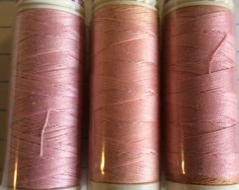 SALE three spools thread ,Mettler Silk finish, item 19
