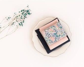 Fat Quarters Floral Cotton & Linen Bundle (3 Pieces) 87958