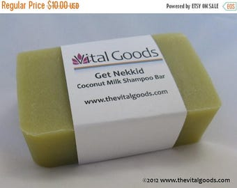ON SALE Get Nekkid Coconut Milk Dreadlock Shampoo Bar 4oz