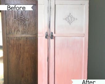 Tutorial  How To Create An Ombré Paint Finish Using DIY Paint From Debi's Design Diary