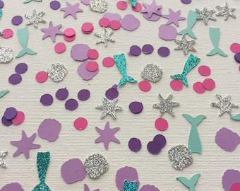 Mermaid Confetti, Mermaid Party Decoration, Princess Birthday, Mermaid  Birthday Party Decor, Mermaid