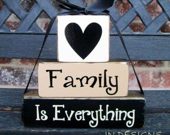 Inspirational quote-Family is Everything