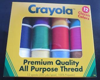 Crayola Premium Quality All Purpose Thread