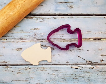 Fish #2 Cookie Cutter and Fondant Cutter and Clay Cutter