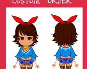 A custom Josie rizal plushie