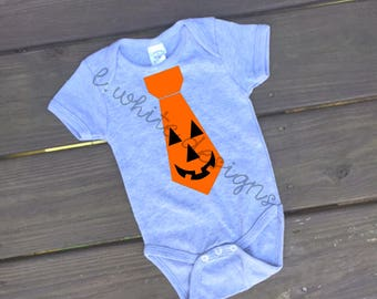 Jack-o-lantern Pumpkin Tie SVG PNG Cuttable File