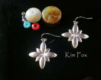 Infinite Flower in Sterling Silver designed by Kim Fox