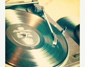 Record Art: Album fine art photography Art Vinyl Record Art Print Record Photo Still life photography, Record Player Decor