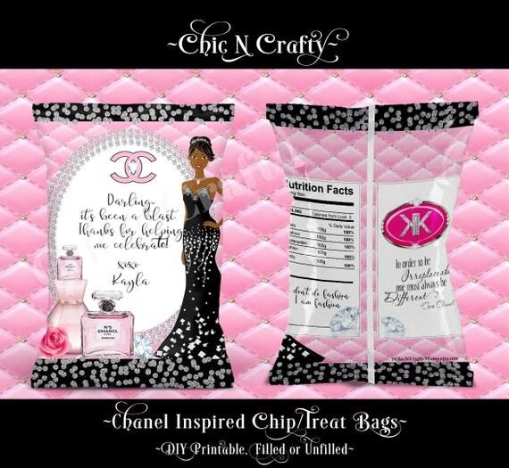 Items Similar To Designer Inspired Chip Bag Chip Bags