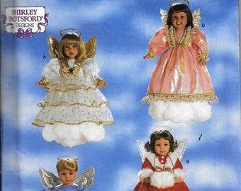 "Simplicity 8478 Angel Costumes 18"" Dolls American Girl Shirley Botsford Sewing Pattern UNCUT"