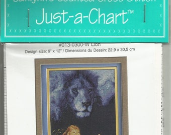 Lion Just-A-Chart by Janlynn's