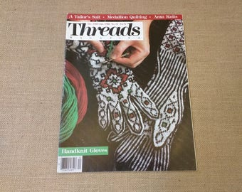 Threads Magazine December 1987 January 1988 Back Issue Number 14