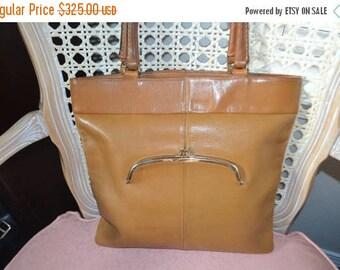 On Sale COACH ~Coach Bag~ Bonnie Cashin ~ Coach Slim Tote~ Tan Coach~Coach Bag~ Coach  New York City USA