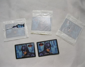 Batman Movie Film Slides Maybe Cracker Jack Toys A Set of 5 of Batman & Poison Ivy  2 NIP Fun to Add to A Collection, Craft or Art Project