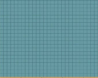 Coast to Coast Blue Grid 43008-6 by Whistler Studios for Windham Fabrics