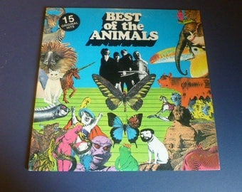 The Best Of The Animals Vinyl Record LP AB-4226 Abkco Records 1973