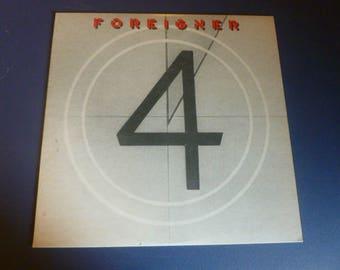 FOREIGNER 4 Vinyl Record SD 16999 Atlantic Records 1981