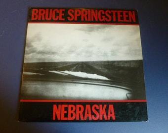 Bruce Springsteen Nebraska Vinyl Record LP QC 38358 Columbia Records 1982