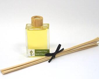 Lemongrass & Ginger Room Reed Diffuser