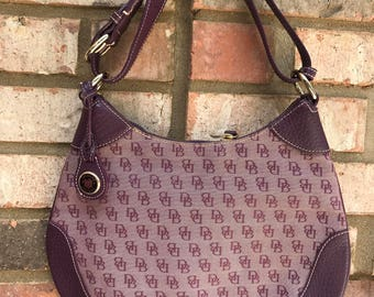 Vintage Dooney & Bourke Hobo Bag