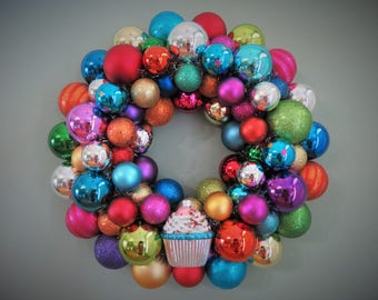 Happy BIRTHDAY Wreath  Benefit St. JUDE'S Children's HOSPITAL Ornament Wreath