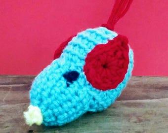Handmade Crocheted Cat Toy - Bonnie the Bird Catnip Toy