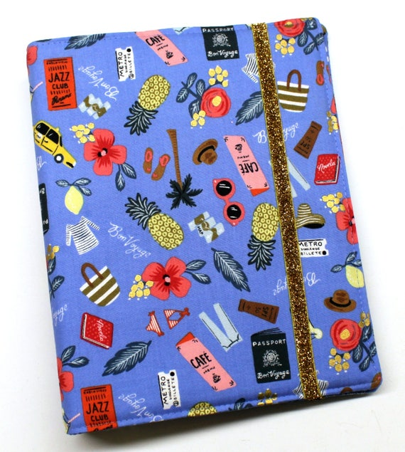 Bon Voyage WIP Tracker Cover and Binder