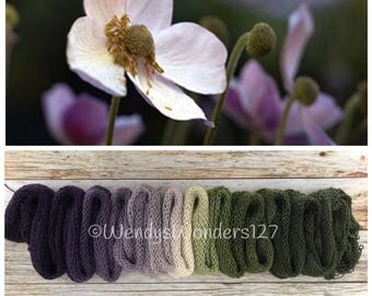 Hand Dyed Yarn, Gradient Yarn, Heavy Lace Weight, He Loves Me