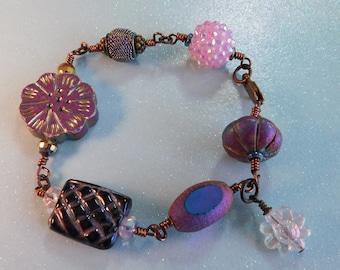 Purple Gypsy Bracelet