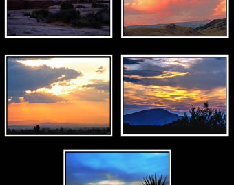 Photo Note Cards - Sunset Collection