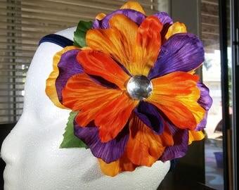 Summer Sunset Hair Flower