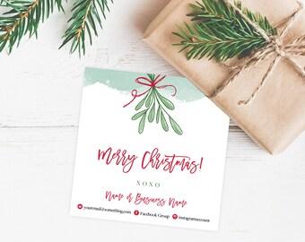 LipSense Christmas Card