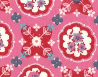 Liz Scott Fabric, Domestic Bliss by Liz Scott for Moda Fabrics, 18072-14 Kitchenette Pink